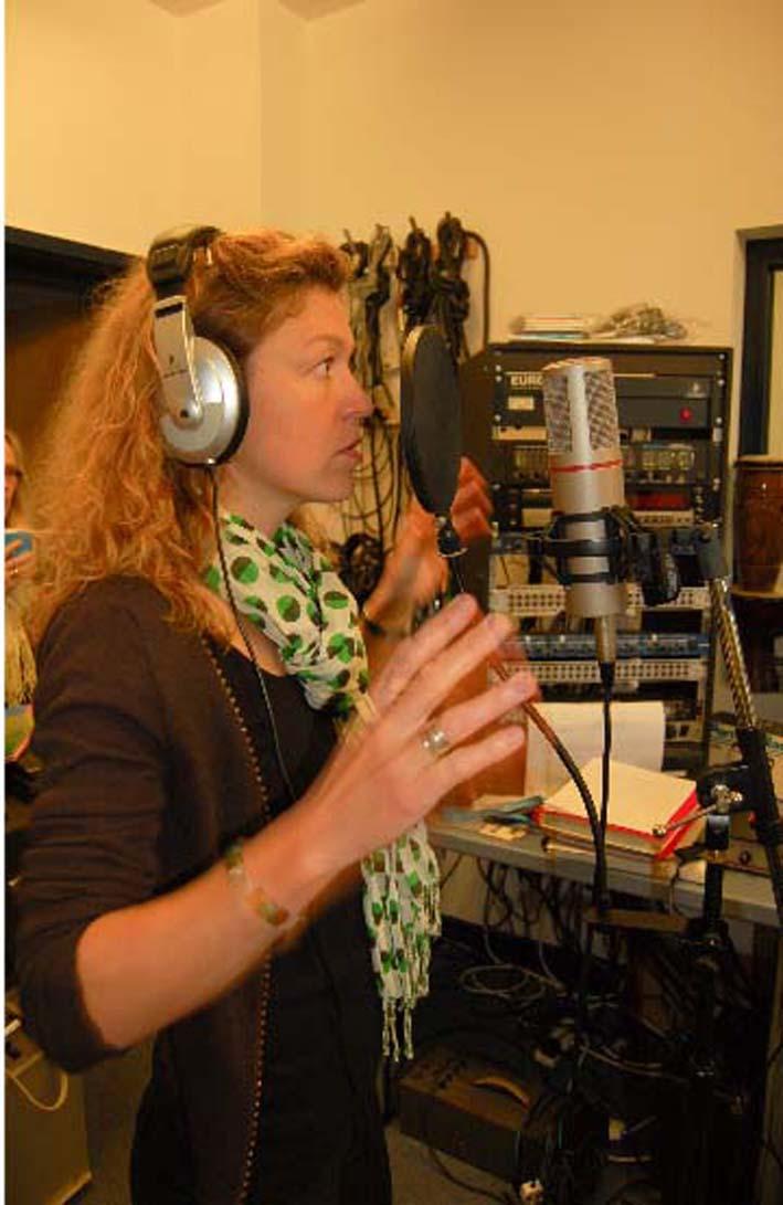 Enregistrement de la Forêt Musicale - bionics 2010