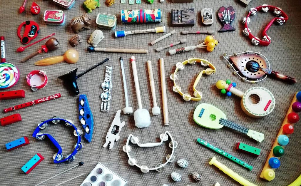 collections d'instruments de musique