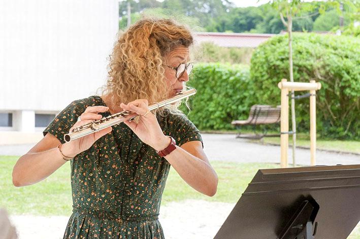 marie-pierre grillet à la flûte