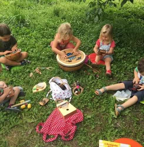 atelier éveil musical et culturel tout-petits